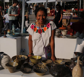 Blanca at Thessaloniki ceramic exhibition