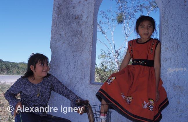 mexico-maya-girls