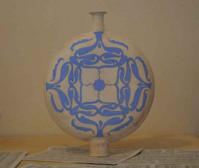clay-gourd-blue